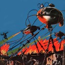War of the Worlds - Frank R. Paul originals.